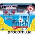 Финиш Квантум таблетки для посудомоечных машин Лимон