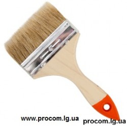 Кисть плоская ручка дерево ПЕТРОВИЧ