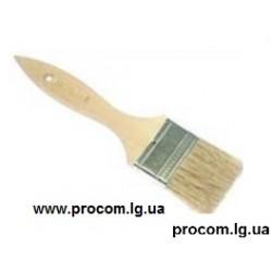 Кисть флейц дерев. ручка