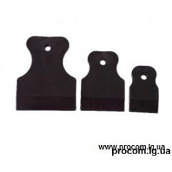 Комплект шпателей резиновых (3 шт.)