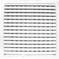 Решетка вентиляц. поворотные жалюзи ЭРА 200*200 (2020РРП)