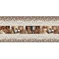 ПВХ панель панно Кофе 2766*645мм (3 листа)