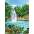 Фотообои Тропический водопад 8 л