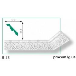 Плинтус потолочный Марбет Exclusive B-13 (2м) резной