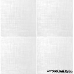Плитка потолочная Солид 2034 белая (50*50см)