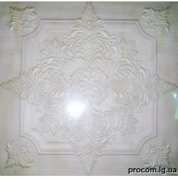 Плитка потолочная Солид 2056 Агат бежевый (50*50 см)