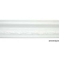 Плинтус потолочный Солид резной 169/80 2м (натяж.потолок)