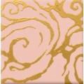 Декор Стреза розовый PN 10*10