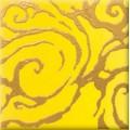 Декор Стреза  желтый YL 10*10