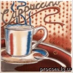 Декор Парма Cappuccino 10*10