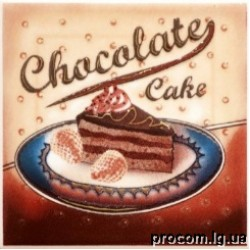 Декор Парма Chokolate 10*10