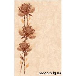 Декор Каменный цветок 25*40 бежевый