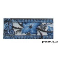 Фриз Афина Греческая 6*20см синий