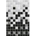 Плитка Алжир черная 03 декор 20*30