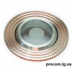 Светильник точечный НDL16142R  MR16 12V серебро золото Delux