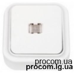 Выключатель 1-но клавишный с подсветкой С110-231 Беларусь