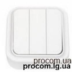 Выключатель 3-х клавишный наружный А56-137 Беларусь
