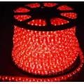 Дюралайт 2 полюса 13мм красный