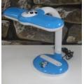 Лампа настольная ЭРА NL-252 11W  G23 панда синяя