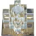Светильник точечный 1525 G9 коричневый Ферон