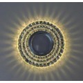 Точ. светильник с LED подсв. 7015 ИП-WT