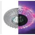 Светильник точ. ЭРА LED DK LD2 SL/WH+PU фиолет/бел MR-16