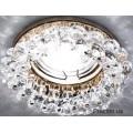 Светильник точечный CD4141 MR16 прозрачное золото Ферон