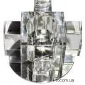 Светильник точечный 1525 G9 прозрачный хром Ферон