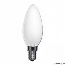 Лампа накал. свеча ELECTRUM 40W  E27 матовая