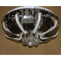 Люстра потолочная Торт NL-1220/500 CR