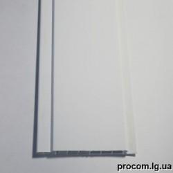 Панель ПВХ (100мм*6м) Успенка молоко шов