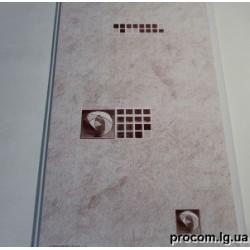 Панель ПВХ (250мм*6м) Успенка шоколад