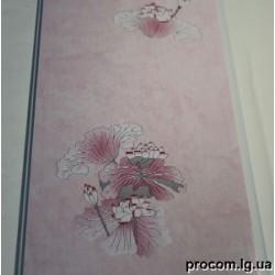 Панель ПВХ (250мм*6м) Успенка розовая лилия