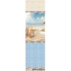 Панель пластиковая 250мм*2700мм*9мм Novita Романтика Декор
