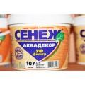 Сенеж Аквадекор тонирующий антисептик 0,9 кг иней Скидка 10%