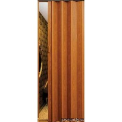 Дверь складная Модерн Фруктовое дерево