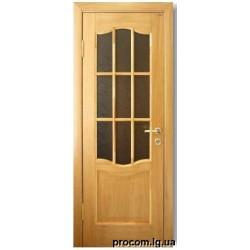 Дверь шпон Модель 07 (60,70) стекло
