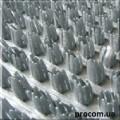 Дорожка щетинистая Бристлекс 0,9м металлик серый 25 АКЦИЯ! Скидка 20%