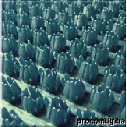 Дорожка щетинистая Бристлекс 0,9м темно синий 79