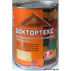 Лак ДокторТекс (3в1) декоративный противогрибковый лак