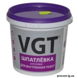 Шпаклевка для внутренних работ ВГТ