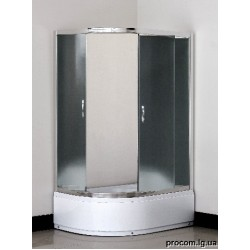 Душевая кабина 1115 115*85*195 см, стекло серое