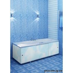 Экран под ванну Премиум белый/цветной