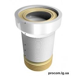 Труба эластичная для унитаза 400мм WC-2 O110