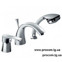 Смеситель для ванны врезной Кварц 4205-210-00