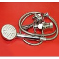 Смеситель для ванны двухрукий N023-525