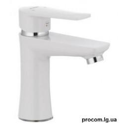 Смеситель для умывальника PLAMIX Oscar-001 белый без подводк