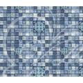 Коврик для ванны синий FV 26 С