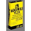 Клей для плитки TOILER TL 25