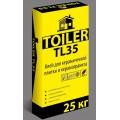 Клей для плитки TOILER TL 35